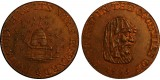 Cambridgeshire. County Farthing.  DH 36