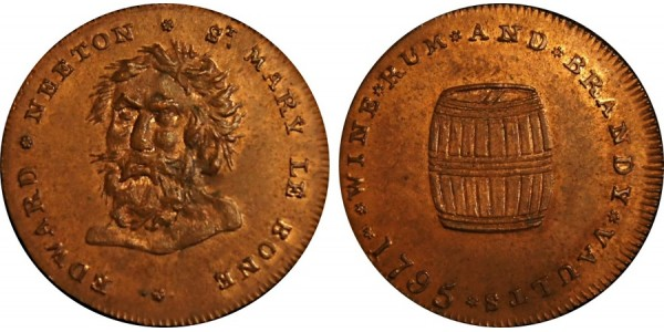 Middlesex. Neeton's Halfpenny.  DH 390