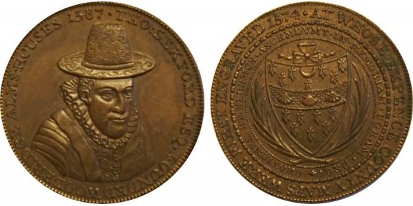 SUFFOLK. WOODBRIDGE. Penny. 1796. D&H 15.