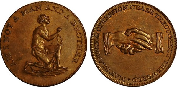 Middlesex. Anti Slavery Halfpenny.  DH 1037 B.