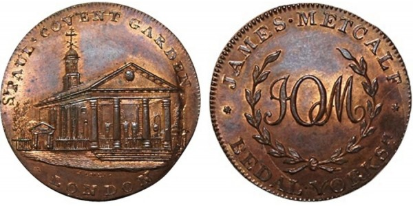 Middlesex. Skidmore's Halfpenny.  DH 526