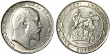 Edward VII, Silver Shilling, 1909