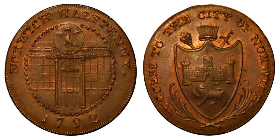 Norfolk. Norwich. 1792.  DH 28
