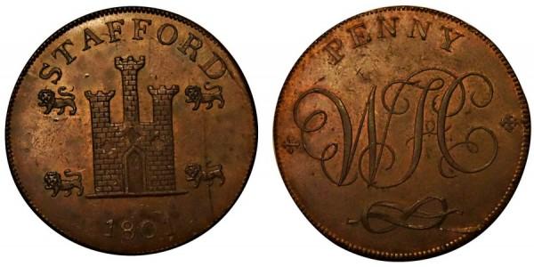 Staffordshire. Stafford. 1801. DH 4.