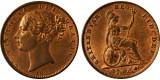Victoria, Copper Farthing, 1855