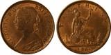 Victoria, Bronze Farthing, 1865