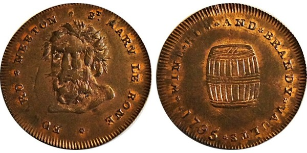 Middlesex, E. Neeton's Halfpenny. 1795. DH 390.