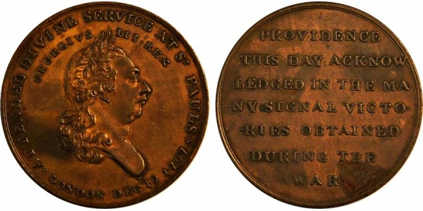 Middlesex, National Series Penny.  DH 197.
