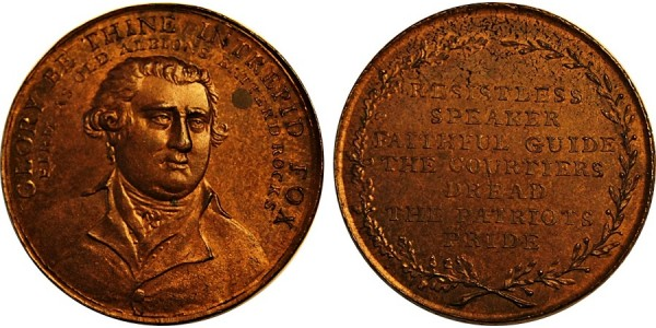 Middlesex. Political & Social Series Penny.  DH 223.