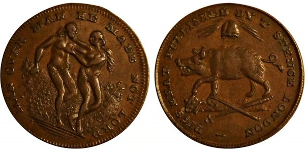 Middlesex. Spence's Farthing Token.  DH 1088