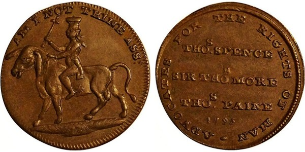 Middlesex. Spence's Farthing Token. DH 1112