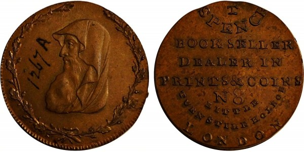 Wales. Anglesey Halfpenny.  DH 424