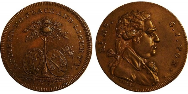 Middlesex. Spence's Halfpenny Token.  DH 772A