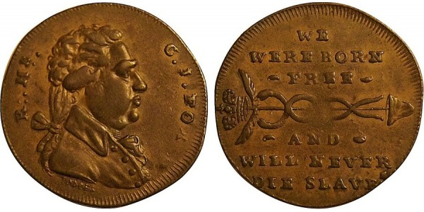 Middlesex. Spence's Halfpenny Token.  DH 763A