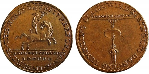 Middlesex. P. Astley's Halfpenny.  DH 362f