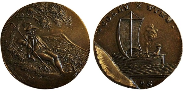 Northumberland. Spence's Halfpenny. 1795 DH 22