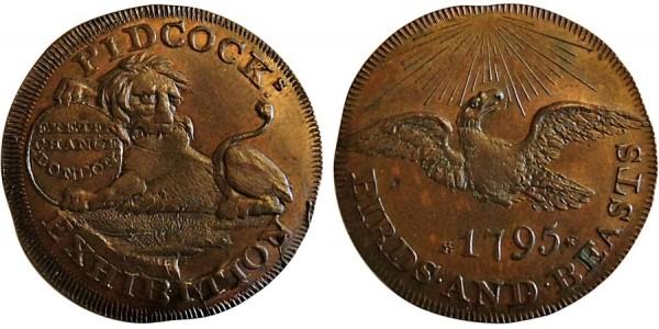 Middlesex. Pidcocks Halpenny. 1795. DH 415b