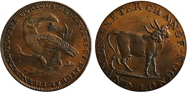 Middlesex. Pidcocks Halfpenny. DH 454.