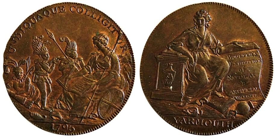 Norfolk. Yarmouth. 1796. DH 54.