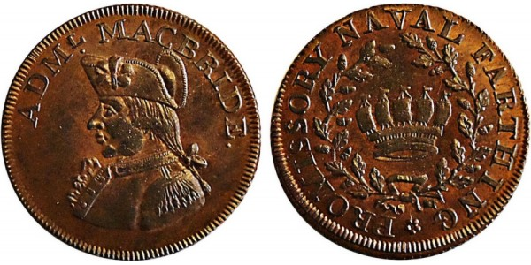 Hampshire. Co. Series. Farthing Token. DH 112