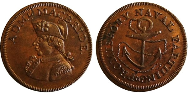 Hampshire. Co. Series. Farthing Token. DH 113