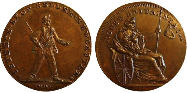 Northumberland. Spence's Halfpenny DH 6