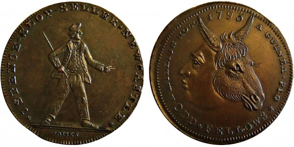 Northumberland. Spence's Halfpenny DH 12