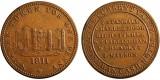 Newark. Shopkeepers Penny. 1811. W. 880.