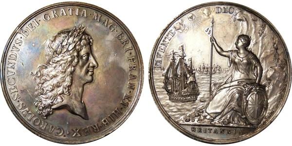 Charles II .1660 - 1685.