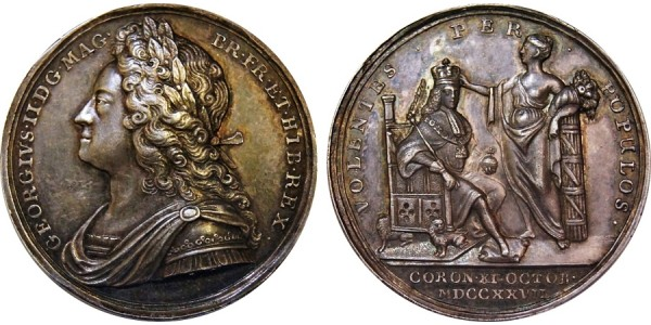 George II .1727 - 1760.