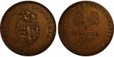 Bristol Brass & Copper Co Penny. 1811. W 444.