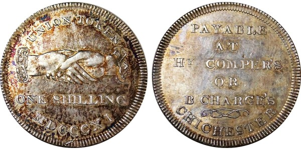 Sussex. Chichester. Silver Shilling. 1811. D 7