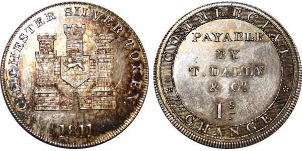 Sussex. Chichester. Silver Shilling. 1811. D 10
