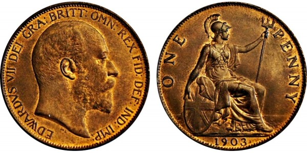 Edward VII. Penny. 1903.