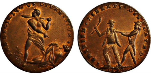 Middlesex. Spence's Halfpenny. 1794. DH 735