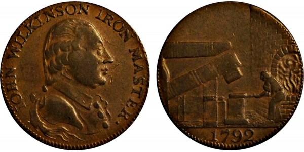 Warwickshire. Wilkinson. Counterfeit.  DH 390.