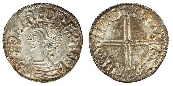 Aethelred II, Silver Penny, 978-1016