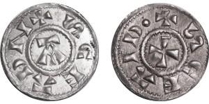 Viking, East Anglia, Silver Penny, 885-915