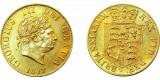 George III, Gold Half Sovereign, 1817.