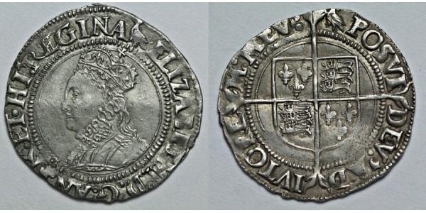 Elizabeth I, Silver Groat, Sixth Coinage, 1562-1600
