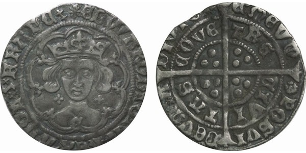 Edward IV, Silver Groat, Light Coinage, 1464-70