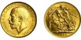 George V, Gold Sovereign, 1911C