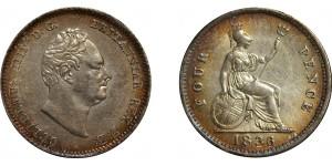 William IV, Silver Groat, 1836