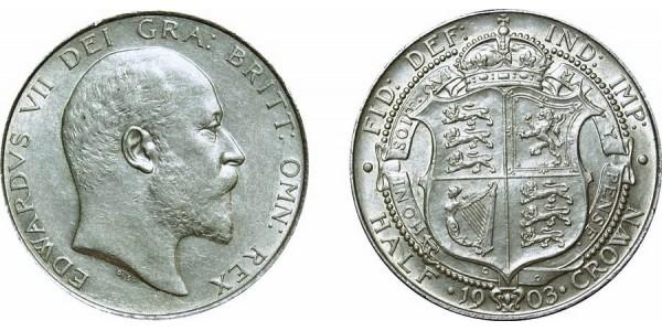 Edward VII, Silver Half-crown 1903