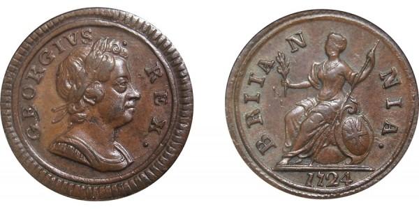 George III, Copper Farthing, 1773